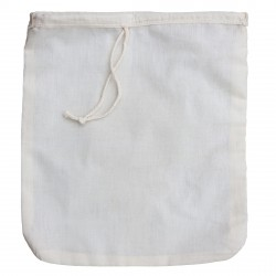 Organic Cotton Nut Milk Bag XL Size - Best Premium Quality Organic Almond Milk Strainer