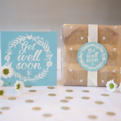 Get Well Soon Cake Card
