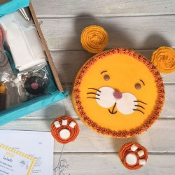 The Lion Cake Kit