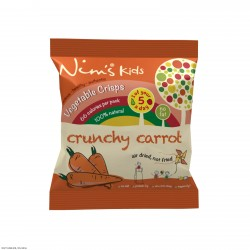 Kids Air Dried Carrot Crisps