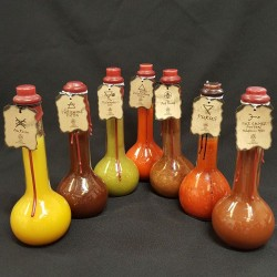 All 7 of The Chilli Alchemist's Apothecary Edition Sauces