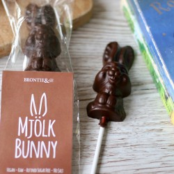 Two Luxury Solid Free From Milk Chocolate Bunnies