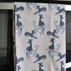 Hounds Tea Towel