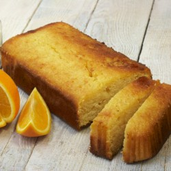 Orange and Coconut Loaf Cake (Vegan & Gluten Free)