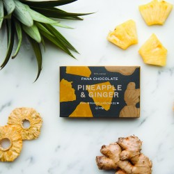 Organic Pineapple & Ginger Chocolate Bars (3 bars)