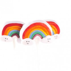 Over the Rainbow Cake Pops