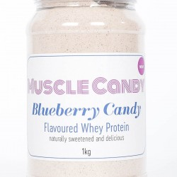 Blueberry Clean & Organic Whey Protein 1kg