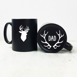 Carved Stag Mug