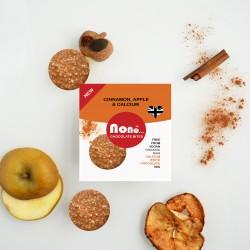 Nono Cocoa Chocolate Snacks - Cinnamon & Apple (Multipack)