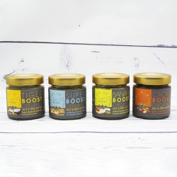 Boost Butters - Certified Organic Nut & Seed Butters (4 Pack)