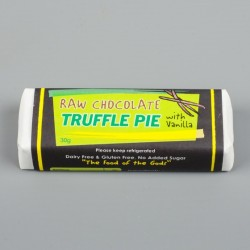 Raw Chocolate Truffle Pie with Vanilla (10 Packs)