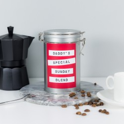 Coffee Gift Tin for Dads