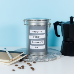 First Fathers Day Coffee Gift Tin