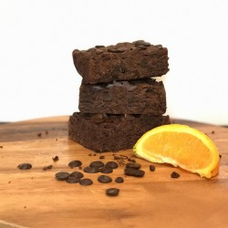 Dairy Free - Vegan - Egg Free Zesty Orange & Chocolate Chip Brownies