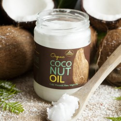 Organic Virgin Cold Pressed Coconut Oil