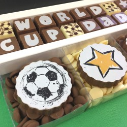 Personalised Chocolate Football Gift