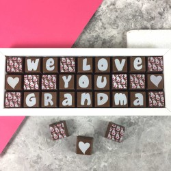 Personalised Chocolates for Grandma or Granny