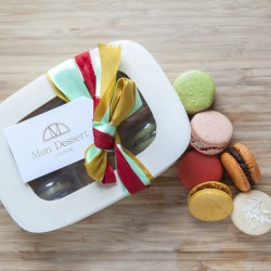 Macarons - The Fruity Box  (Made with Organic Ingredients)