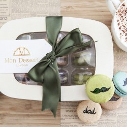 The Limited Edition Father's Day Macaron Box  (Made with Organic Ingredients)