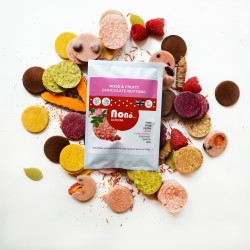 Nono Cocoa Vegan - Rose & D'Mannose Chocolate Buttons (Multipack)