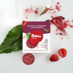 Nono Cocoa Chocolate Snacks - Beetroot & Raspberry (Multipack)
