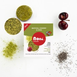 Nono Cocoa Chocolate Snacks - Matcha & Sour Cherry (Multipack)