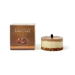 Tiramisu Raw Cake | Box of 6
