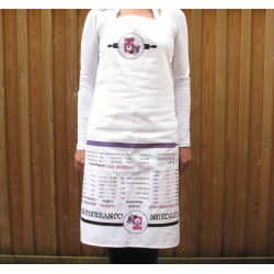 Kitchen Conversion Chart 'Lift Up' Adult Apron