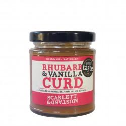 Rhubarb & Vanilla Curd