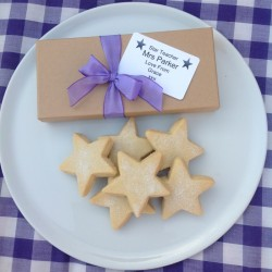 Teacher's Star Shortbread Gift Box