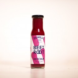 Beetroot Ketchup (All Natural, Refined Sugar Free)