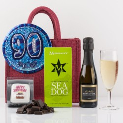Happy 90th Birthday Gift Bag from Natures Hampers