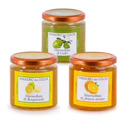 Set of 3 Italian Marmalades