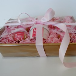 Edible Cookie Dough Hamper Pink Hamper Gift Set