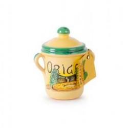 Oregano in Hand Made Terracotta Pot