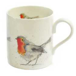 Robin Mug - Christmas Gift - Made in England