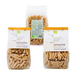 Set of 3 Organic Senatore Cappelli Pasta