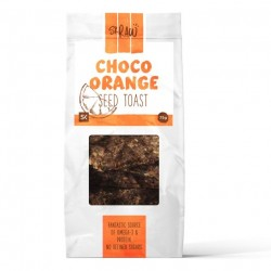 Choco-Orange Raw Seed Toasts - Pack of 3
