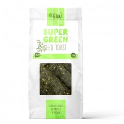 Super Green Raw Seed Toasts - Pack of 3