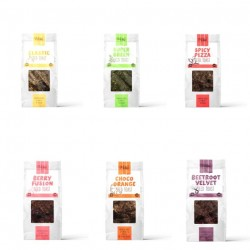 SK RAW Seed Toast Collection - 6 varieties (Savoury & Sweet)