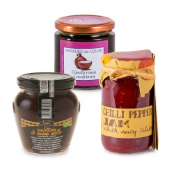 Set of 3 Italian Jams