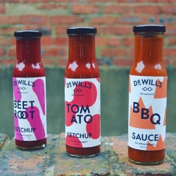 Ketchup & BBQ Sauces Taster Pack (All Natural, Refined Sugar Free)
