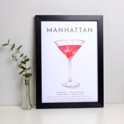 Manhattan A4 Print