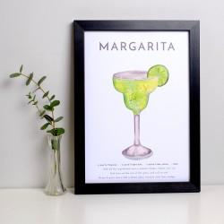 Margarita A4 Print