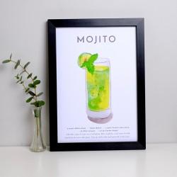 Mojito A4 Print