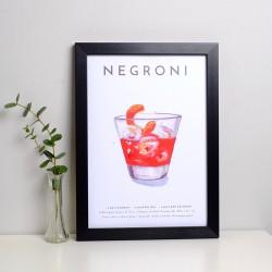 Negroni A4 Print