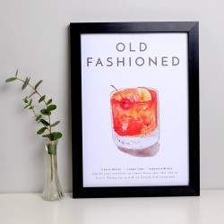 Old Fashioned A4 Print