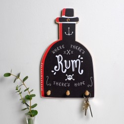 Rum Bottle Key Holder