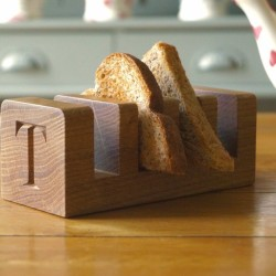 Traditional Wooden Toast Rack