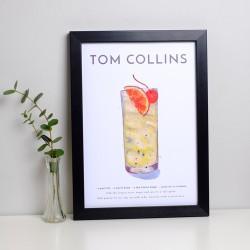 Tom Collins A4 Print